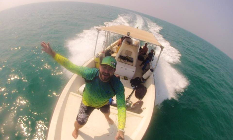 Freediving in Abu Dhabi, United Arab Emirates