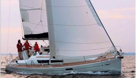 Sun Odyssey 36i Monohull Charter In Sane