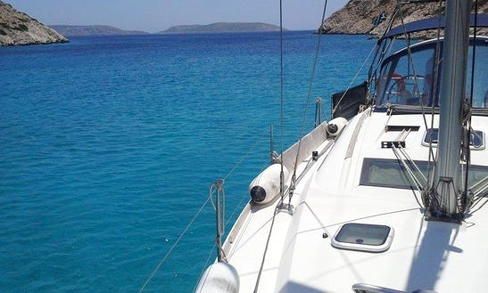 Cruising Monohull Charter For 4 People In Paros