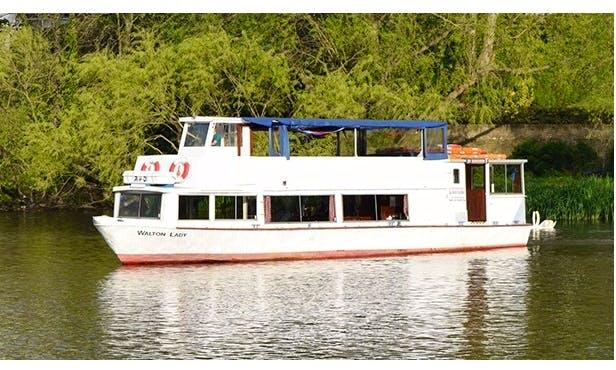 """Enjoy """"Walton Lady"""" Party Boat In Walton-on-Thames, United Kingdom"""