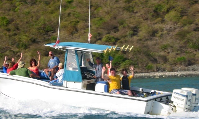 Private Charter - The ONLY Eco-Tours in the BVI