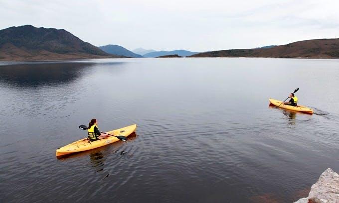 Kayak Tours in Tasmania with Tassie Bound