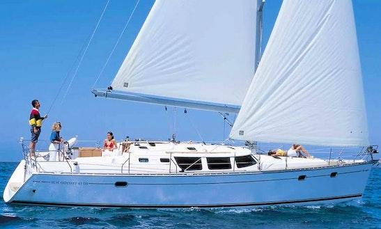 Sun Odyssey 43 Sailing Yacht Charter In Pattaya