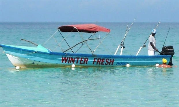 "Jamaican Fishing Charter on ""Winter Fresh"""