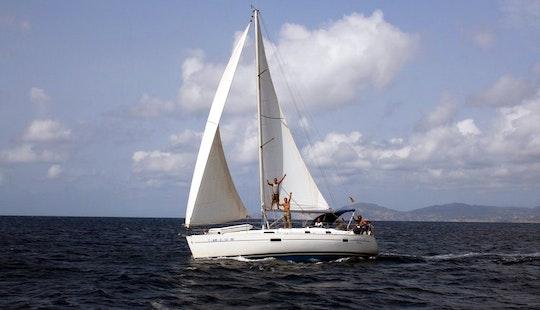Charter 36 Ft Beneteau Oceanis Cruising Monohull In Ibiza