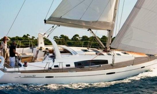 Oceanis 50 Cruising Monohull Charter In Estonia
