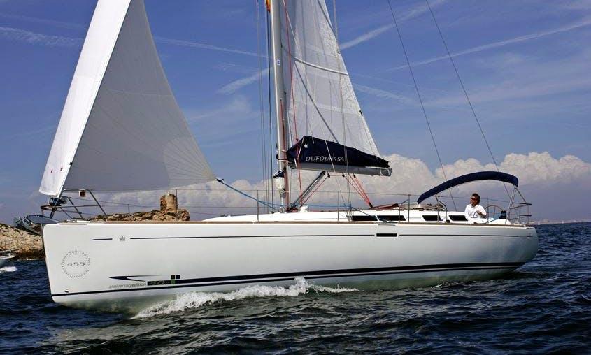 Dalmatia Dufour 455 Sailing Yacht Charter