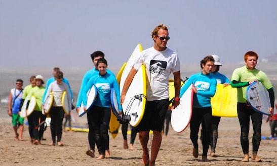 Red Star Surf In Las Palmas