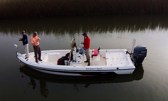 24ft Skeeter Bay Boat Fishing Charter In Venice, Louisiana