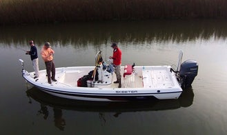 24ft Skeeter Bay Boat Fishing Charter in Venice, Louisiana