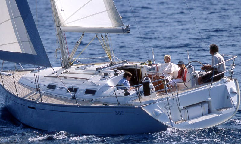 Charter a Dufour 385 Sailing Yacht in Rogoznica