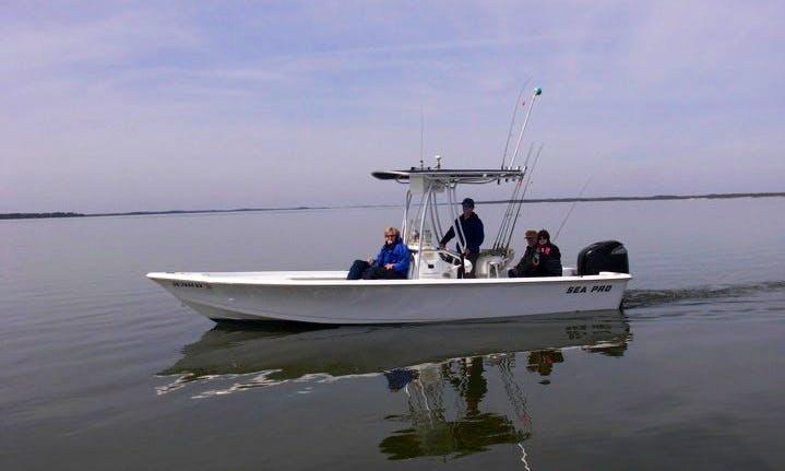 "21ft ""Uno Mas"" Sea Pro Fishing Charter in Seabrook Island, South Carolina"
