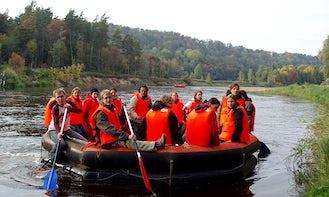 Inflatable Raft Rental in Sigulda