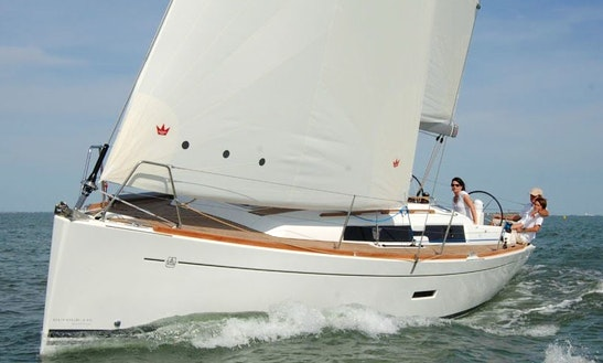 Dufour 335 Sailing Yacht For Hire In Rogoznica