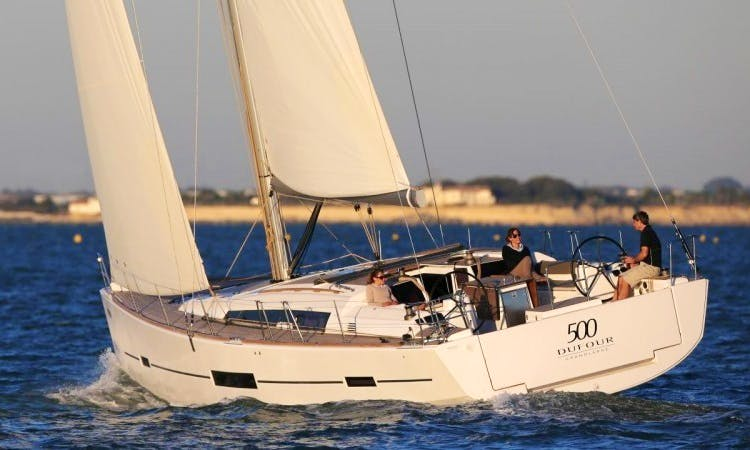 Dufour 500 Luxury Sailboat Charter in Croatia