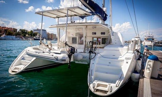 Fortuna V Cruising Catamaran Hire In Zadar