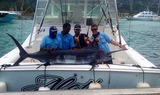 """Fishing Charter Aboard """"Special K"""" Cabo Sportfisherman in Seychelles"""