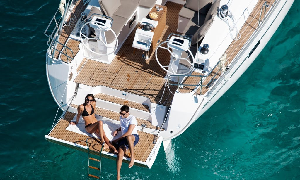 Charter a Luxury Bavaria 46 Cruiser Yacht in Lavrion, Greece