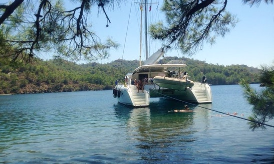 Cruising Catamaran Rental In Bodrum