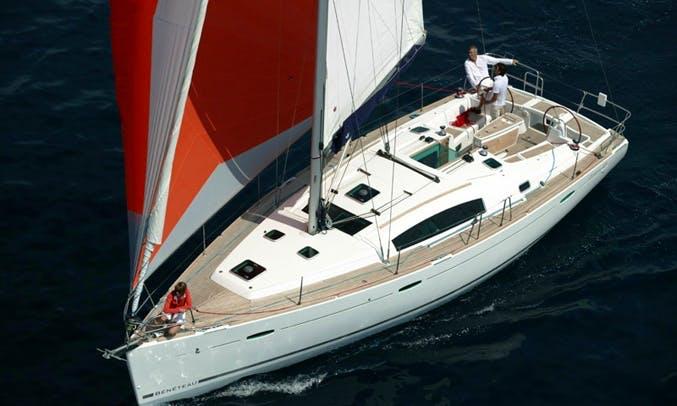 Charter Beneteau Oceanis 37 in Kaštel Gomilica