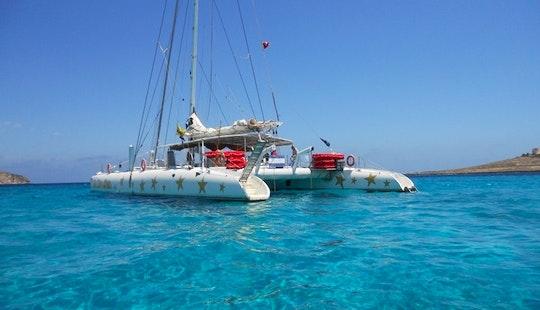 100-person Sailing Catamaran In Sliema, Malta