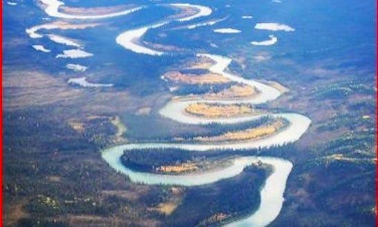 Canoe Tour On The Bonnet Plume River In The Yukon