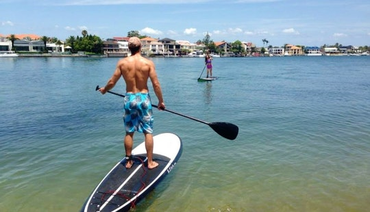 Stand Up Paddle Boards For Hire At Surfers Paradise