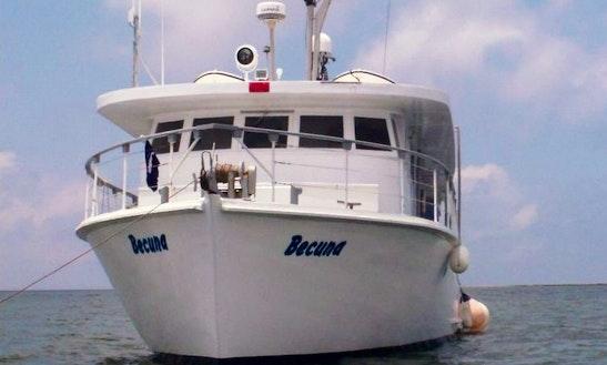 65' Chandeleur Trawler Charter Becuna