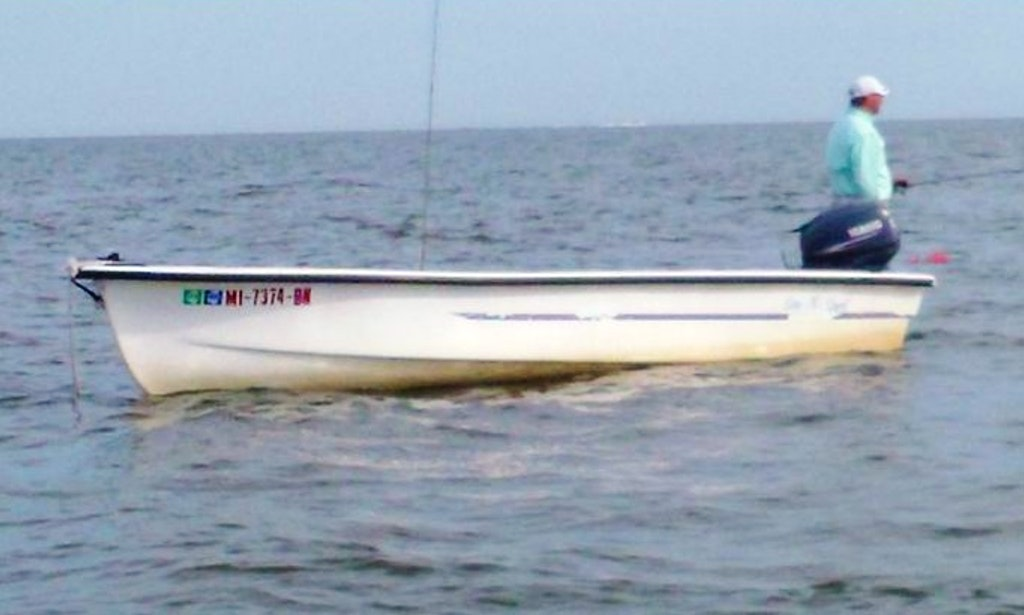 14 39 fiberglass skiff rental in long beach getmyboat for Long beach fishing boat