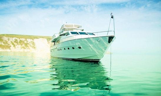 777 Triple Seven Luxury Yacht Charter In South Coast Uk
