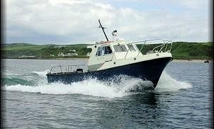 Sea Fishing Charters in Ballycastle with Captain Christopher