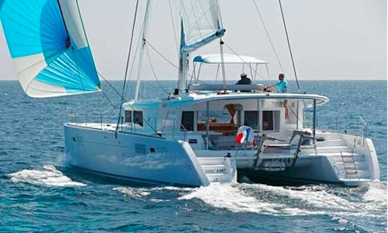 Luxury  Catamaran Lagoon 450   Chartering  In Tivat