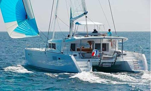 Luxury  Catamaran Lagoon 450   Chartering  in Tivat