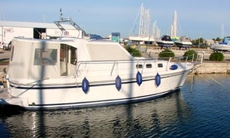 ADRIA 1002 2010 Paulina  Motor Yacht Charter in Marina