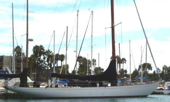 'baruna' 1938 Sparkman Stephan Yawl Charter In Marina Del Rey