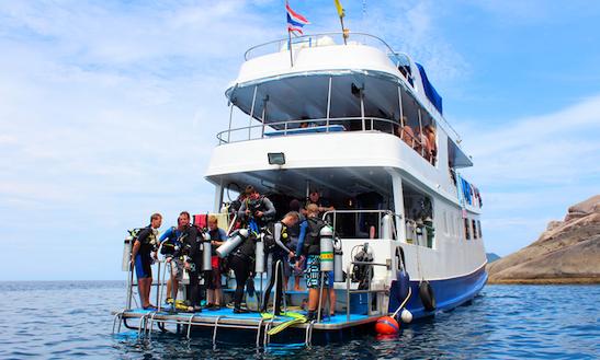 Thailand 4 Day Scuba Charter Manta Queen 2