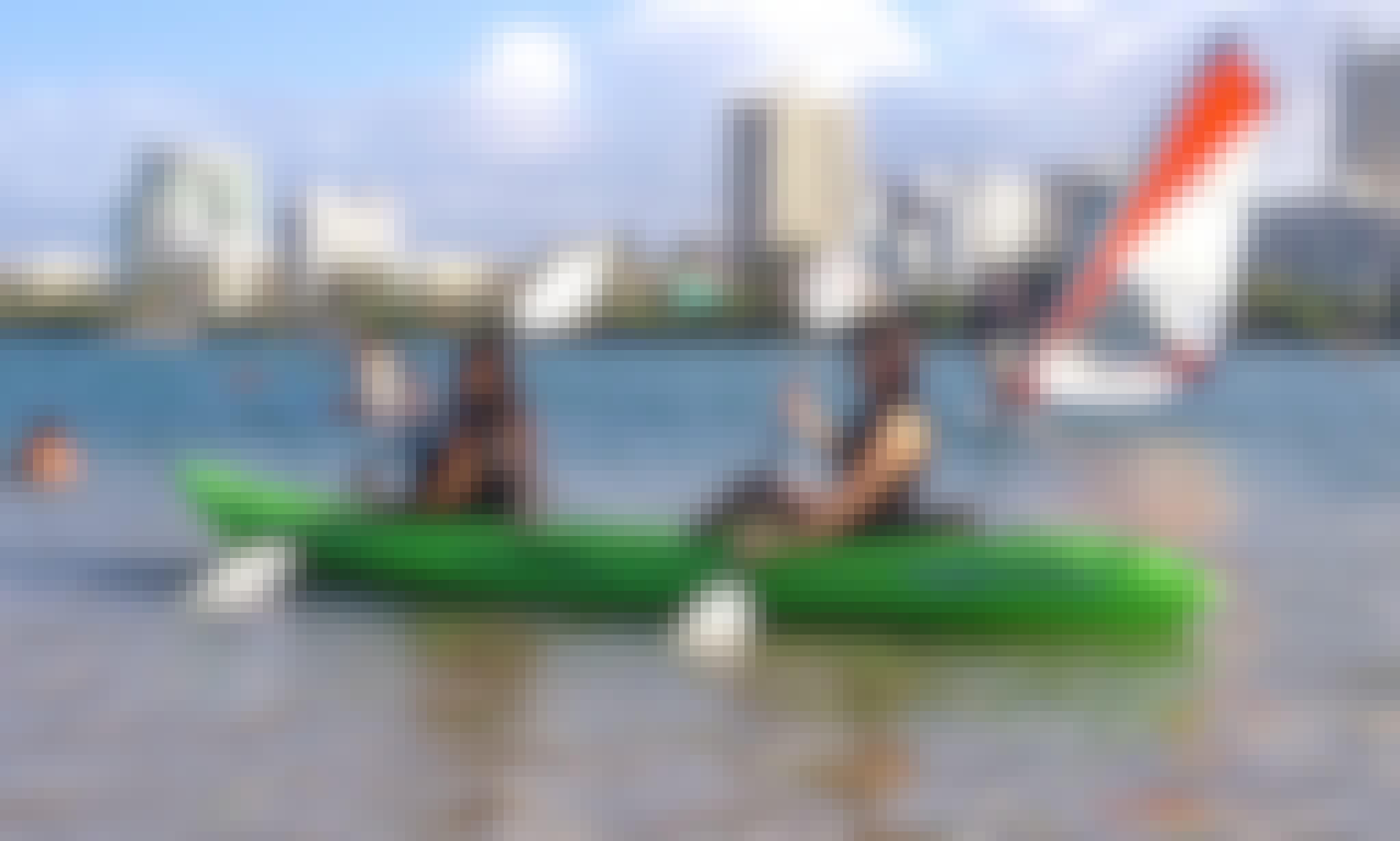 Double Kayak Rental & Lesson in San Juan Bay