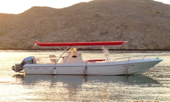 Oman Fishing Charters On Sansool 2