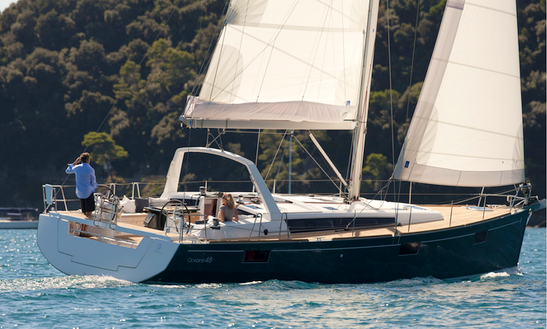 Beneteau Oceanis 48 Charter In Pasito Blanco, Spain
