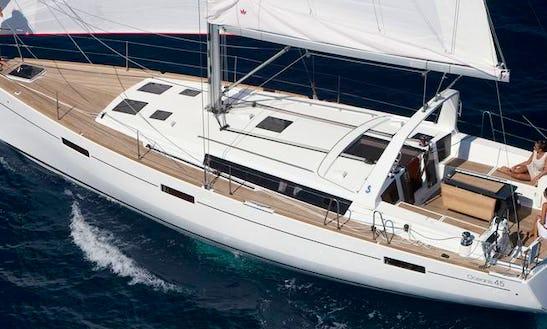 Beneteau Oceanis 45 Charter In Pasito Blanco, Spain