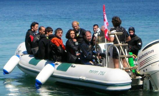 Dive Charter In Portoferraio On The Island Of Elba