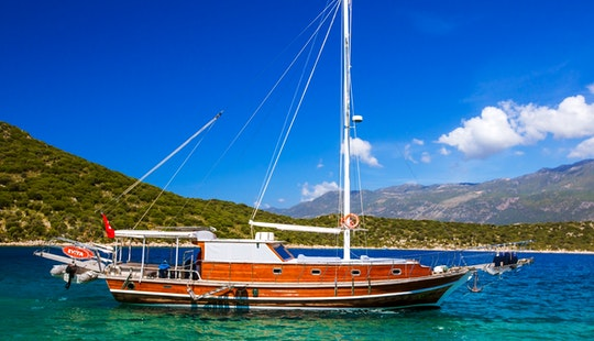 Gulet Charter In Turkey With Captain Ergun