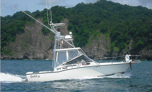 """Fishing Charters on """"Kingpin"""" in Costa Rica"""