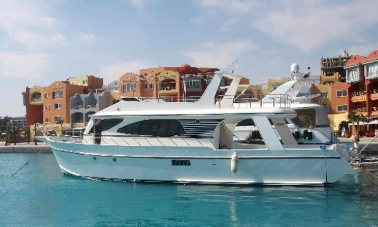 Private Charter Aboard Luxury Motor Yacht