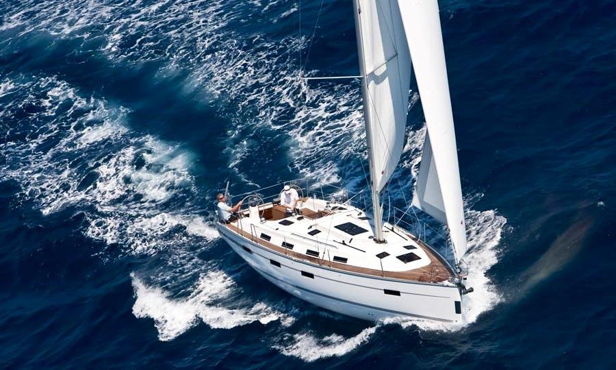 Sailing Charter On 40ft 'Galateia' Bavaria Cruiser Yacht In Tropea, Italy