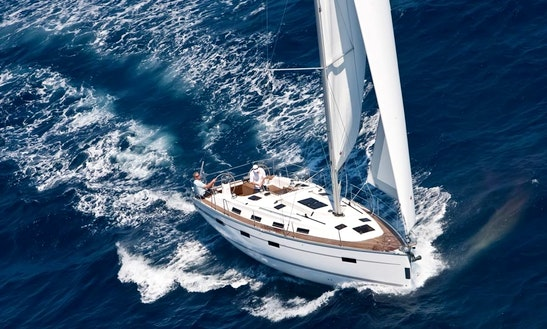 Sailing Charter On 40ft 'galateia' Bavaria Cruiser Yacht In Tropea, Italy