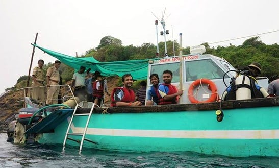 Diving Charters At Palolem Beach In Goa