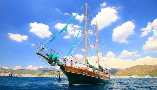 Gulet Sailing Charter In Mugla