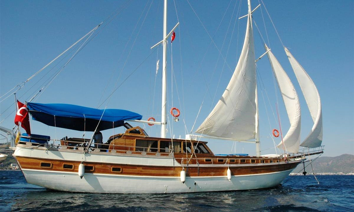 "Gulet Yacht ""Segmen"" to Cruise Bodrum, Marmaris, Gocek, Fethiye"