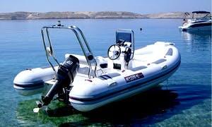 Rent a Maestral 430 RIB in Croatia